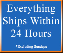 Everything ships in 24 hours